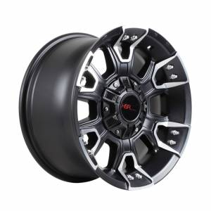 HSR EMR-904 Ring 17X9 H5X114,3 ET30 Full Black Machine