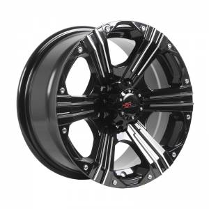 HSR Emr 902 56040 Ring 15x7 H5x114,3 ET25 Black Machine Face
