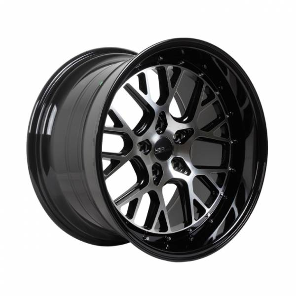 HSR Ilaga CS11 R18X9,5 H5X114,3 ET 35 Black Machine Spoke