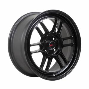 HSR Kumamoto 60423 R16X7 H4X100 ET40 Semi Matte Black