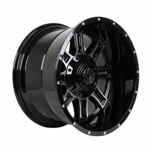HSR Matador A776 Ring 20X12 Blank ET-44 Gloss Black & Machine