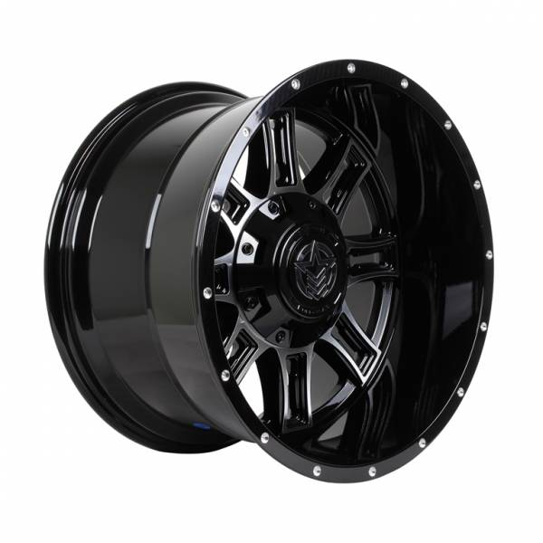 HSR Matador A776 Ring 20X12 Blank ET-44 Gloss Black & Machine