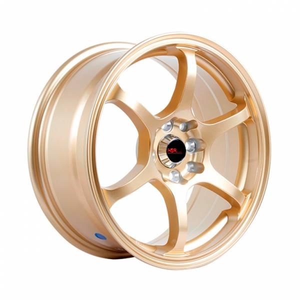 HSR Misaki H208 R16X7 H8X100-114,3 ET40 Gold