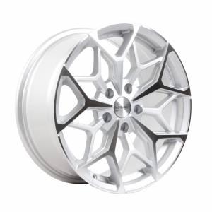 HSR Myth01 R17X7,5 H5X114,3 ET42 Silver Machine Face