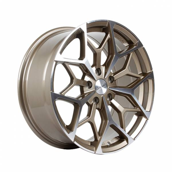 HSR Myth01 R17X7,5 H8X100-114,3 ET42 Bronze Machine Face