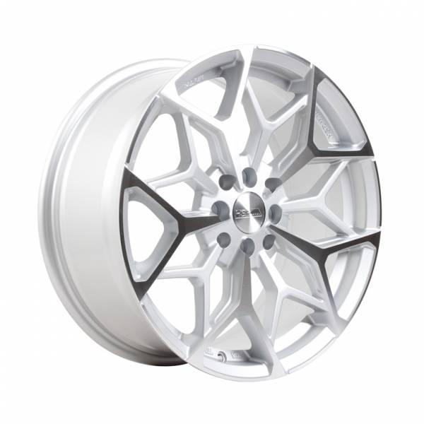 HSR Myth01 R17x7,5 H8x100-114,3 ET42 Silver Machine Face