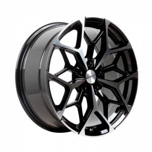 HSR Myth01 R18X8 H5X114,3 ET45 Black Machine Face