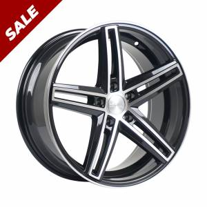 HSR NE5 577 Ring 18x8 H5x114,3 ET35 Black Machine Face