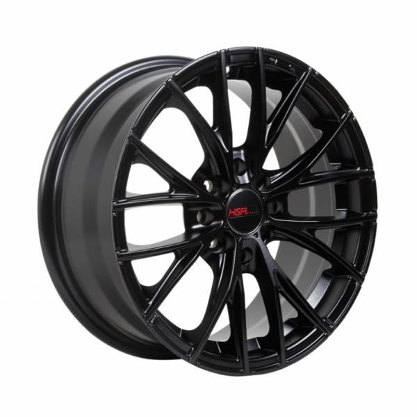 HSR Naples 12283 R15X6,5 H8X100-114,3 ET38 Semi Matte Black
