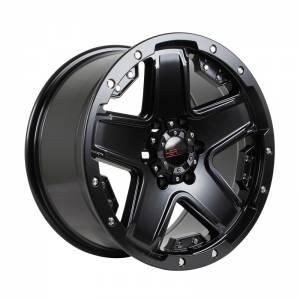 HSR Nduga 85271 Ring 18x9 H6x139,7 ET25 Semi Matte Black