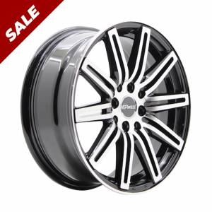 HSR Ne4 JD440 R18X8 H8X100-114,3 ET45 Black Machine Face