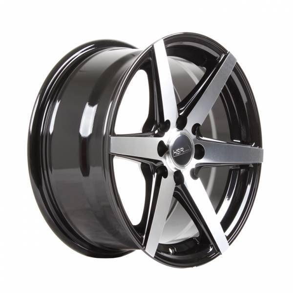 HSR Ne6 7563 Ring 15x7 H8x100-114,3 ET 35 Black Machine Face