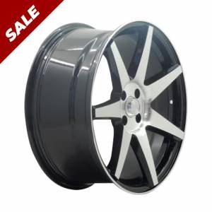HSR Ne7 JD87 Ring 18X8 H4x100 ET42 Black