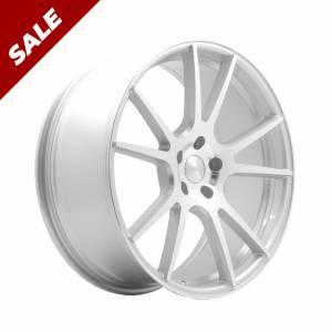 HSR Newbie JD301 Ring 20x8.5-9.5 Hole 5x112 ET45-42 Silver Machine Face copy