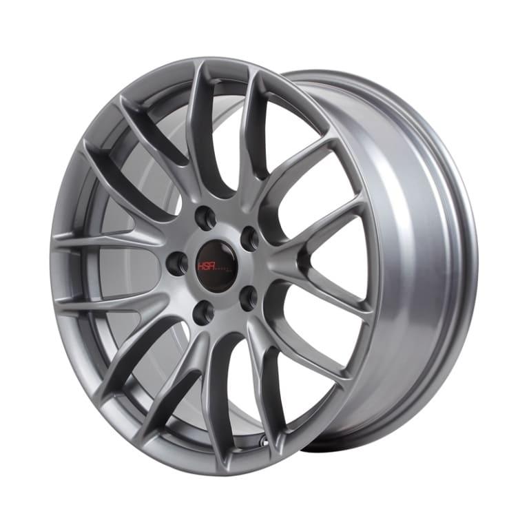 HSR Oster JD106 R17X7,5-9 H5X114,3 ET42-35 Semi Matte Grey