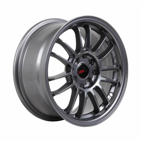 HSR Revo 1403D R15X7 H8X100-114,3 ET35 Semi Matte Grey