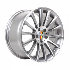 HSR Rostock Blade 10993 R18X9,5 H5X112 ET35 Grey Machine Face