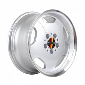 HSR Rostock Euro AM5270 Ring 16x7,5 Hole 5x112 ET35 Silver Machine Lips