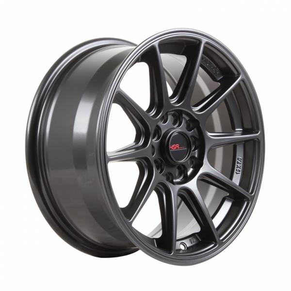HSR Shinjuku JD7060 Ring 15x7 H10x100-114,3 ET35 Semi Matte Black