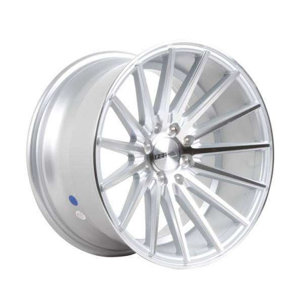 HSR Tsukuba H560 R16X8-9 H8X100-114,3 ET35-30 Silver Machine Face