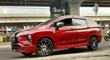 Modifikasi Mitsubishi Xpander dengan Velg HSR