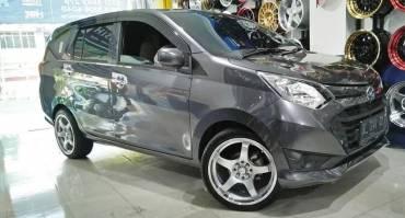 Modifikasi Daihatsu Sigra, Ganti Velgnya Jadi Makin Keren