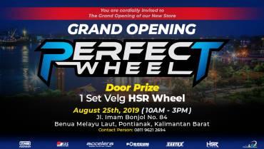 Grand Opening Perfect Wheel di Pontianak