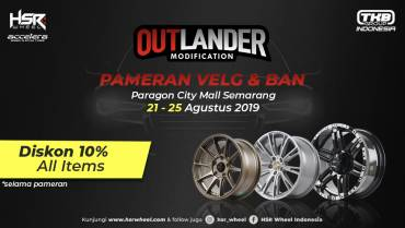 Pameran Velg dan Ban di Paragon City Mall Semarang