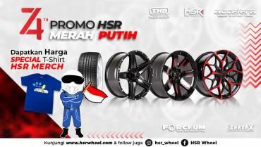 Promo Hari Kemerdekaan HSR Wheel