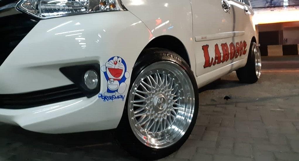 Pelek Mobil Variasi Untuk Mobil Avanza Ban Besar di Katapang, Bandung