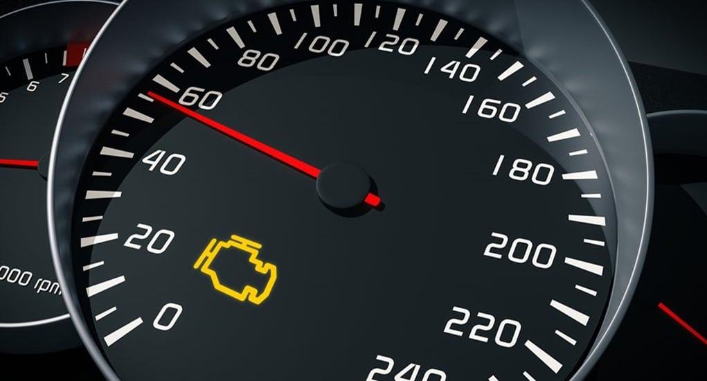 Lampu Indikator Mobil Check Engine