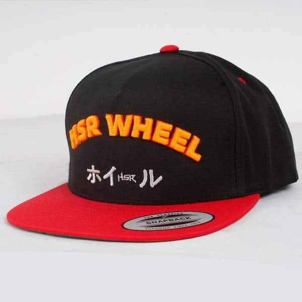 HSR Black & Red ( List Neon Orange ) 1