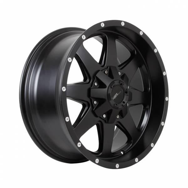 HSR Bula RF1857 Ring 20x9 H6x139,7 ET18 Semi Matte Black