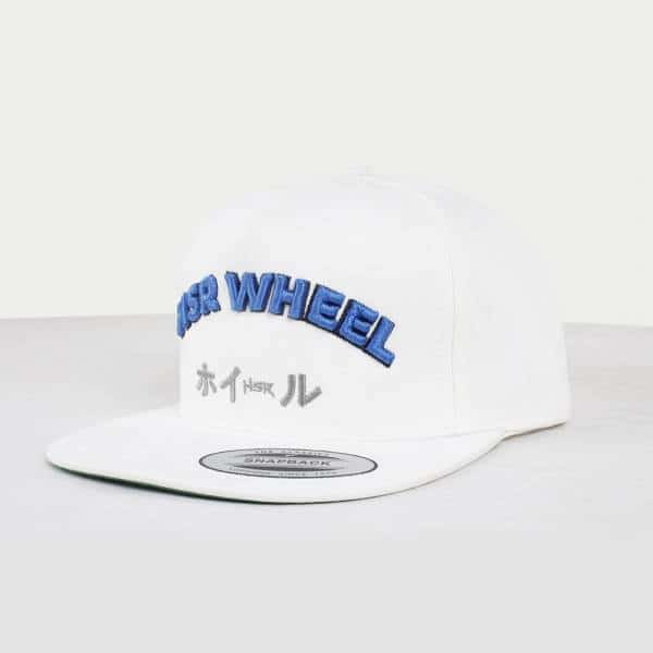 HSR Caps White ( List Blue 2