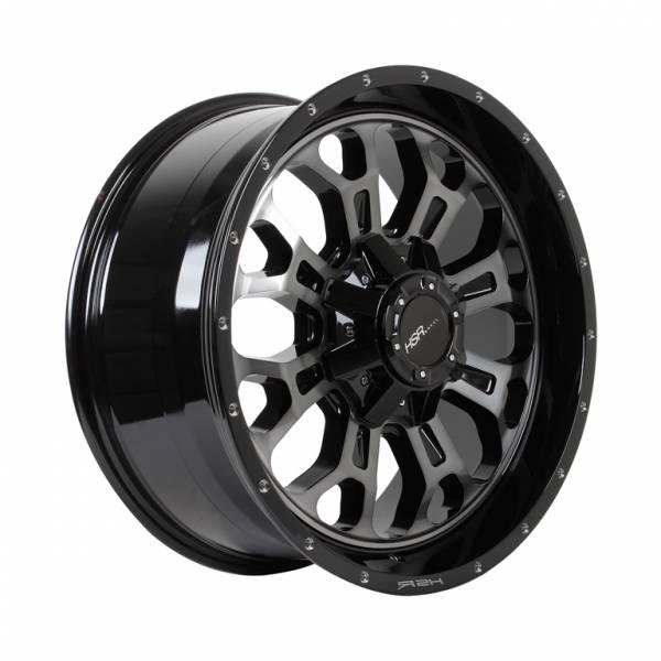 HSR Citius PP01 Ring 20x9 H6x139,7 ET20 Gloss Black Machine Face