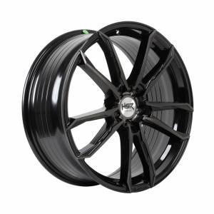 HSR FG Tual B361X Ring 18x8,5 H5x114,3 ET45 Black Tint Mach Face
