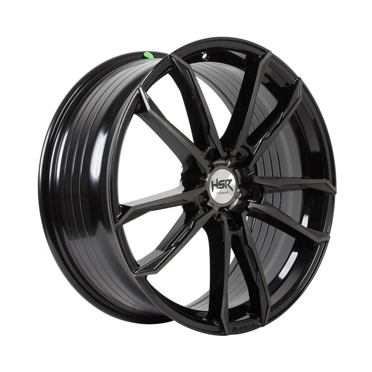 HSR FG Tual B361X Ring 19x85 H5x120 ET35 Black Tint Mach Face1