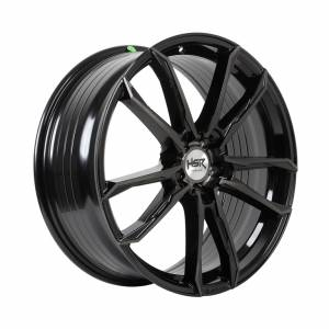 HSR FG Tual B361X Ring 20x8,5 H5x114,3 ET45 Black Tint Mach Face