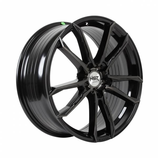 HSR FG Tual B361XB Ring 19x9,5 H5x120 ET30 Black Tint Mach Face