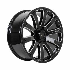 HSR Fortius PP02 Ring 20x9 H6x139,7 ET 18 Gloss Black