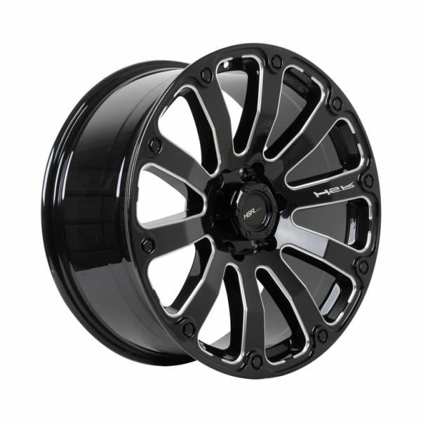 HSR Fortius PP02 Ring 20x9 H6x139,7 ET 18 Gloss Black