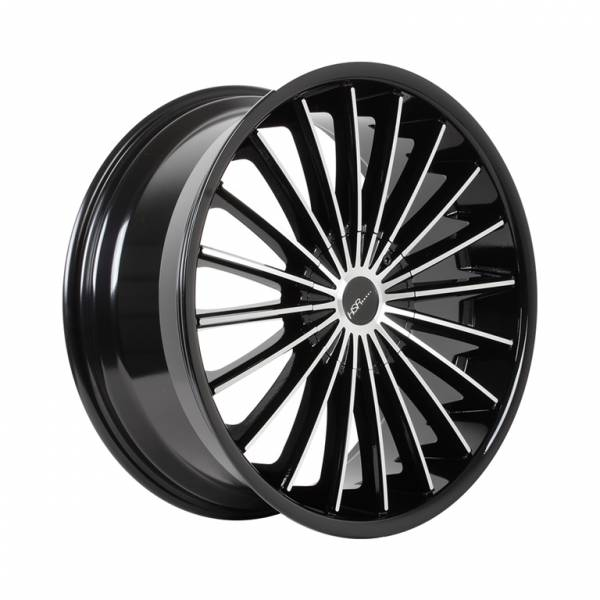 HSR Guardian G138 Ring 18X8 H10x100-114,3 ET40 Black Machine Face