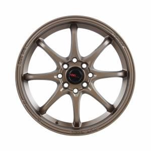 HSR Hiroshima JD6923 Ring 16x7 H8x100-114,3 ET38 Semi Matte Bronze