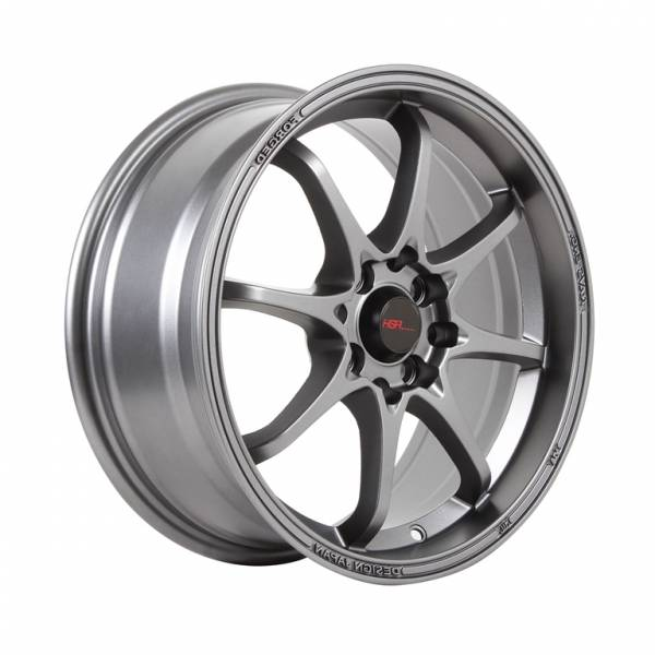 HSR Hiroshima JD6923 Ring 16x7 H8x100-114,3 ET38 Semi Matte Grey