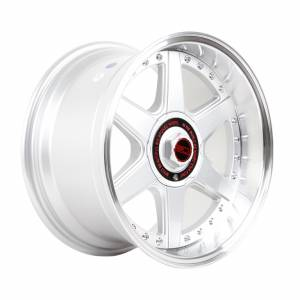 HSR Hoshi Ring 16x8-9 H8x100-114,3 ET25-35 Silver Machine Lips