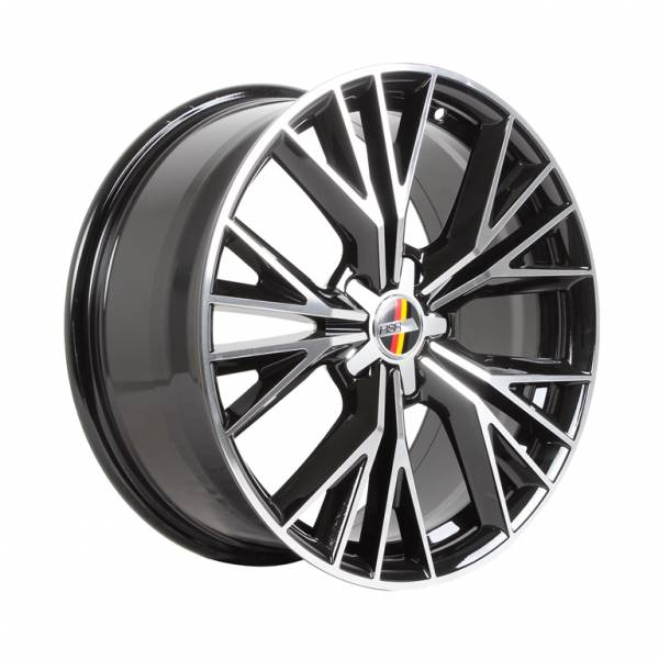HSR Masohi H59173 HSR Ring 18x8 H5x112 ET45 Black Machine Face