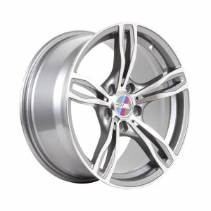 HSR Mezut 54983 Ring 17x8 Hole 5x120 ET35 Grey Machine Face