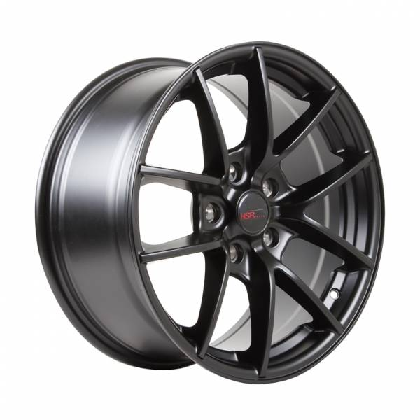 HSR Monstrous B236 Ring 17x8 Hole 5x120 ET35 Semi Matte Black