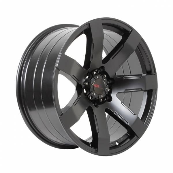 HSR Noozle 2036 Ring 20 x 9,5 H6x139,7 ET15 Semi Matte Black