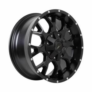 HSR PIru RF1860A Ring 20x9 H6x139,7 ET18 Semi Matte Black